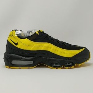 new concept ae9c2 79b9d Nike Air Max 95 Frequency Pack Yellow AV7939-001 NWT